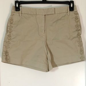J CREW CHINOS  Short Size 6